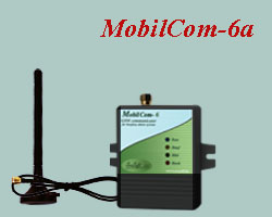 A very simple and economical price module and  security system interface device with auxiliary magnetic stick antenna. It can be connected to any burglary or fire alarm center. It is capable of transmitting via GSM different alarm center initiated reports.
