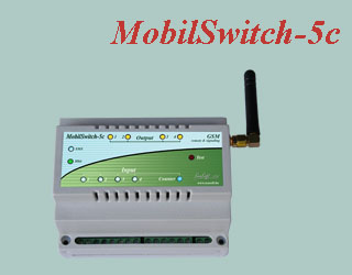 High-voltage, high-current, DIN rail compatible remote controlling and signaling GSM device. Equipped with opto-isolated inputs, analog inputs, high-current relay outputs. The device has a built-in backup battery.